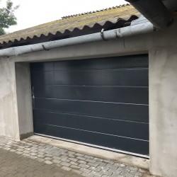 antracit szekcionált garázskapu